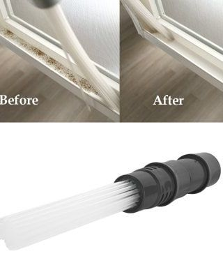 Universal Dust Suction Brush Vacuum Cleaning Attachment