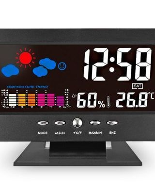 Unique Digital LED Alarm Clock
