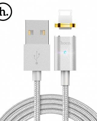 HOCO U16 Magnetic 8 Pin 2.4A Charging Data Cable 1.2M