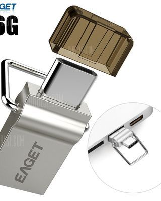 EAGET CU10 16G USB 3.0 to Type-C Flash Drive