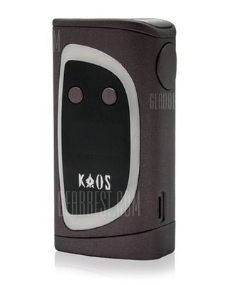 Sigelei Kaos 214 Spectrum 230W TC Box Mod with Multiple Modes / 200 - 570F / 100 - 300C for E Cigarette -  Gray