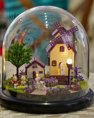 Miniature Doll House Shape DIY Art 3D Jigsaw Puzzle
