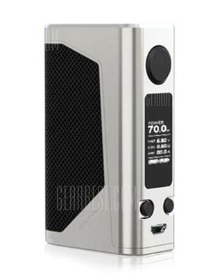 Original Joyetech 228W eVic Primo 2.0 Mod with 100 - 315C / 200 - 600F / 0.5 - 9V for E Cigarette -  Silver
