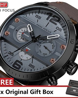 Top Luxury Brand Watch Famous Fashion Sports Cool Men Quartz Watches Waterproof Wristwatch For Male Black (1 Unit Per Customer)