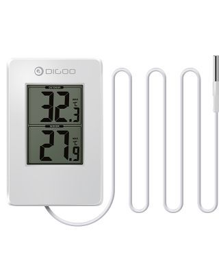Digoo DG-TH02 Home Digital Probe Thermometer Multifunction Indoor and Outdoor Temperature Sensor Monitor