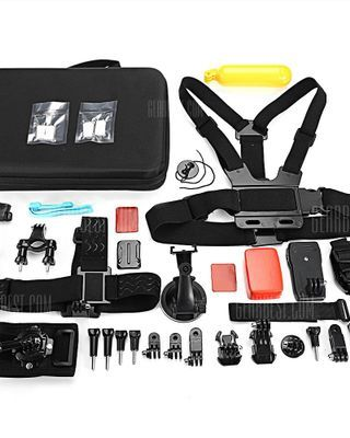 AT684 Action Camera Accessory Kit for GoPro / YI / SJCAM