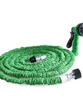 50FT Expandable Garden Water Hose Pipe with 7 in 1 Spray Gun