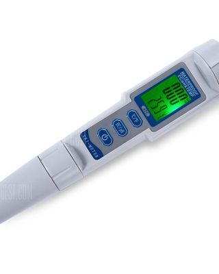 Portable 3 in 1 pH / EC / TEMP Meter with ATC