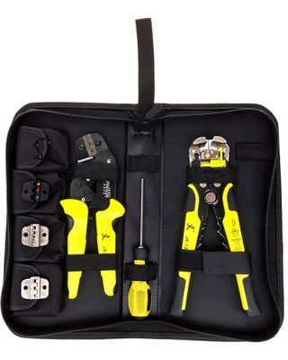 Paron® JX-D4301 Multifunctional Ratchet Crimping Tool Wire Strippers Terminals Pliers Kit