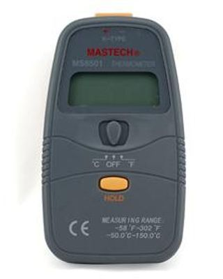 MASTECH MS6501 Handheld 3 1.2 K Type 1999 Count Digital Thermometer