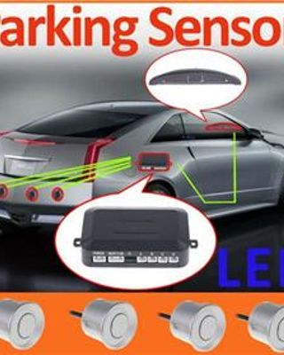 12V Car LED Parking Reverse Backup Radar System Backlight Display